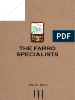 The Farro Specialists
