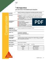 Ficha Técnica - Sikadur-52 Injection (A+B) (1)