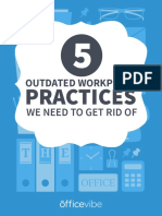 5 Outdated Practices