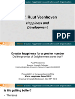 Happiness and Development