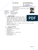 Bamz CV April 2019