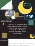 Les Zèbres de La Lune Présentation Du Réseau
