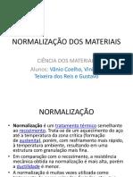 Normalização Dos Materiais