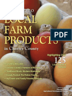 Guide to Local Farm Products in Chester County