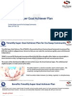 TimeAlly Super Goal Achiever Plan (TSGAP)
