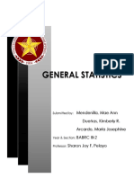 General Statistics Final Presentation