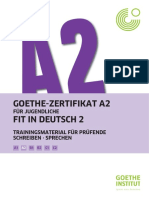 A2 Fit in Deutsch 2 Trainingsmaterial Für Prüfende