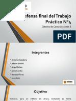 Cronograma Físico - Financiero