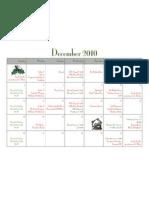 December Cal