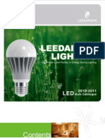 Led Bulbs Catalogue