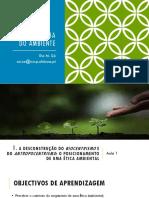 Introdução à Ética Ambiental