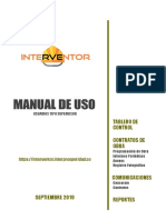 Manual de Uso Interventor