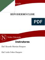 Aula de Hipodermóclise