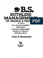 Ruthless Management - Contents