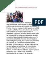 Entrevista Jornal Tradição de POA