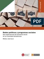 Iucci - Redespoliticasyprogramassociales