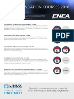 Linux Foundation Courses Delivered by Enea h2 2018