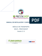 Manual Modulo Prestashop - V2.1.0