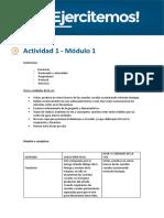 Actividad 1 Modulo 1 Oratoria