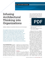 Infusing Architectural Thinking Into Organisations 10.1109%2Fms.2012.12