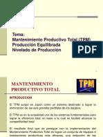 Mantenimiento Productivo Total Tpm, Produccion Equilibrada y