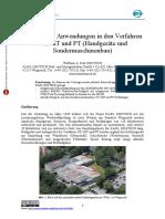 Interessante Anwendungen in Den Verfahren UT, MT Und PT (Handgeräte Und Sondermaschinenbau)