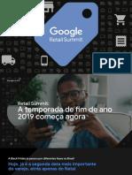 [Masterdeck] Google Retail Summit 30-08-19 - Temporada Fim de Ano 2019