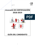 Guía Del Candidato 2018 2019 EOI