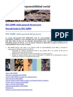 ISO 26000 - Responsabilidad Social