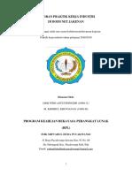 Daftar Isi Laporan Praktik Kerja Industri