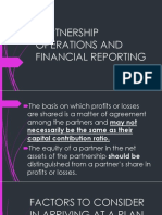 12 Partnership Operations