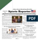 October 30-, 2019 Sports Reporter