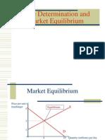 VI Market Equilibrium and Price