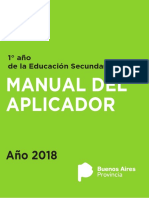 MANUAL DEL APLCICADOR