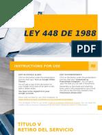 Ley 443 de 1998 colombia