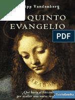 El quinto evangelio - Philipp Vandenberg.pdf