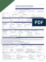 Formulario vinculacion Bancolombia