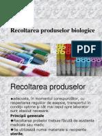 Recoltarea Sange, Hemocultura-prezentare