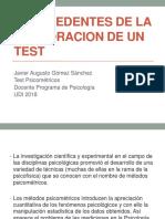 ANTECEDENTES DE LA ELABORACION DE UN TEST.pptx