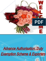 Duty Exemption & Remission Scheme