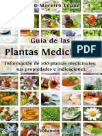 Guía de Las Plantas Medicinales_ Información de 200 Plantas Medicinales, Sus Propiedades e Indicaciones (Volumen Nº 1) (Spanish Edition)
