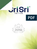 Sri Sri Tattva Export Brochure