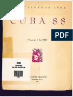 Cuba 88 Memorias de La UNEC