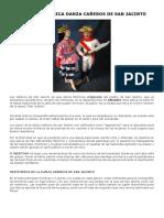 Reseña Historica Danza Cañeros de San Jacinto