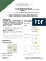 Electrónica 3, Informe Practica Configuración Darlington