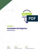 Informacion Centro Municipal de Emprendimiento