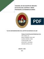 USO DE AEROGENERADORES EN EL DISTRITO DE BARRANCO EN LIMA