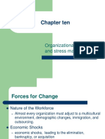 lecture of chapter ten change and stress management.PPT