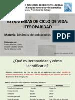Ciclo de Vida Iteróparo
