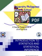 Module in Descriptive Stattistics (1)(2)